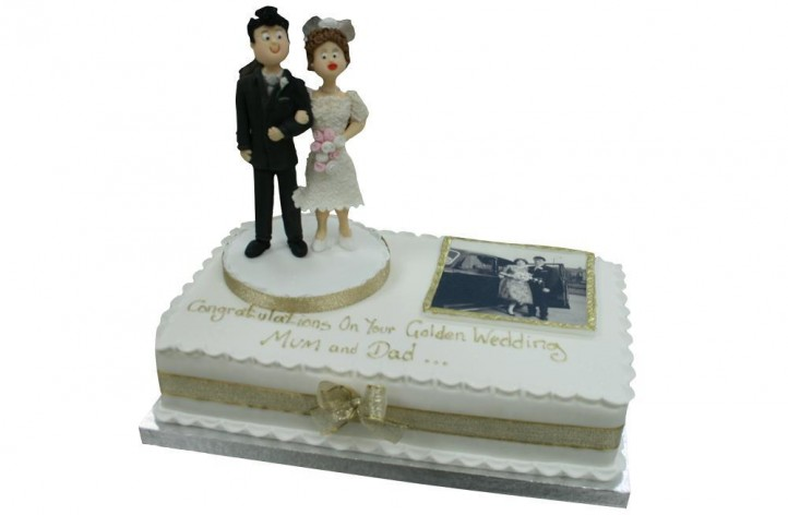 Golden Wedding Anniversary & Figure