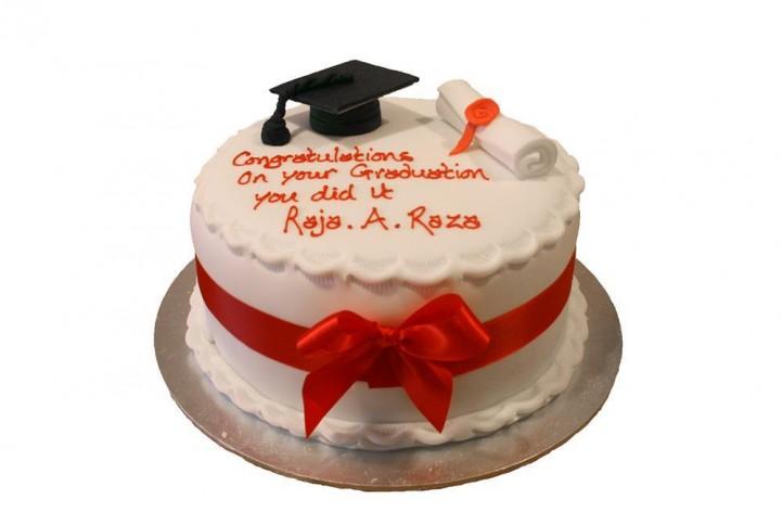 Graduation Simple Cake