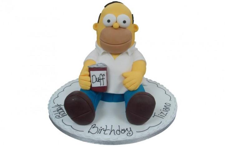 Homer Simpson Full Figure