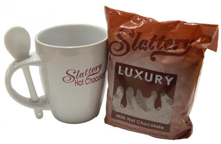 Hot Chocolate Filled Slattery Mug