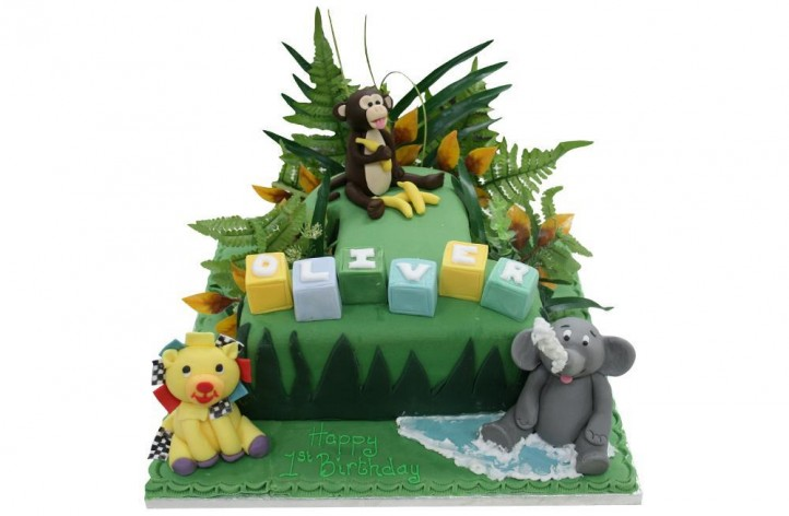 Jungle Scene (Single Figure)