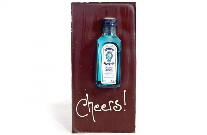 Large Chocolate bar - Bombay Sapphire Gin