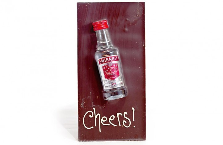 Large Chocolate bar with Alcohol - Smirnoff Vodka