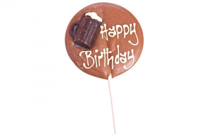 Large Chocolate Lolly - Men's
