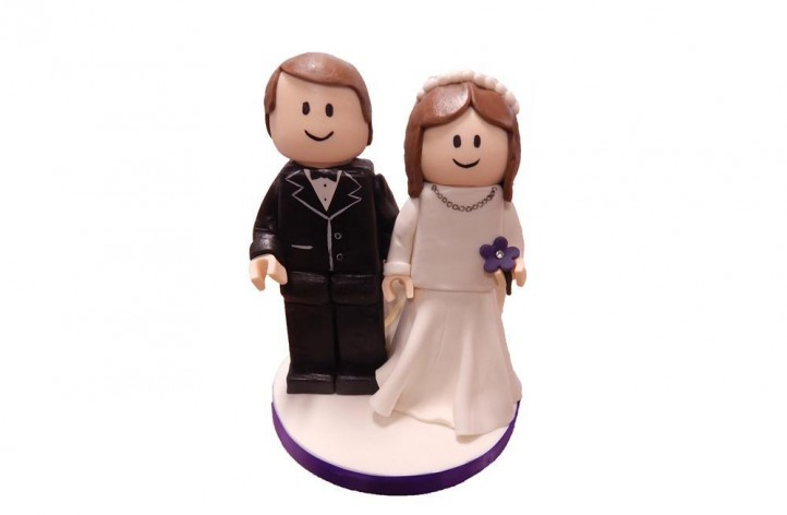 Lego Bride & Groom