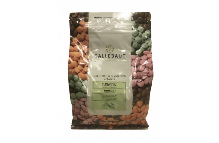 Barry Callebaut Lemon Chocolate Callets 2.5kg