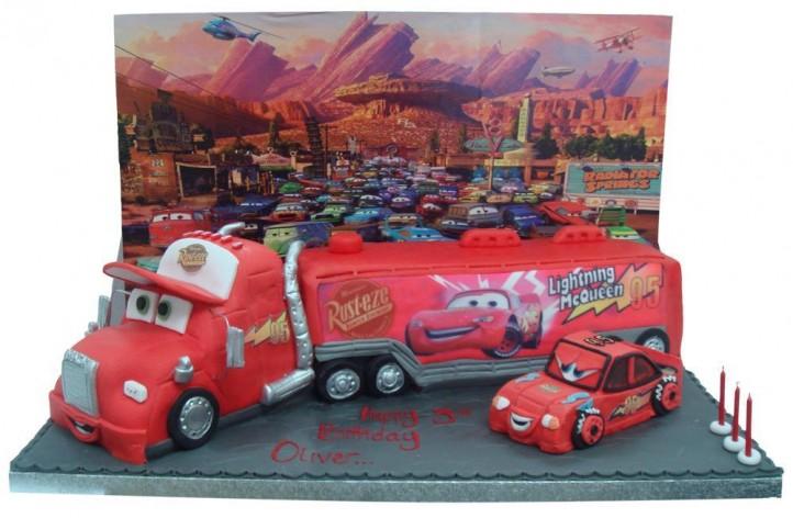 Lightning McQueen Truck & Car