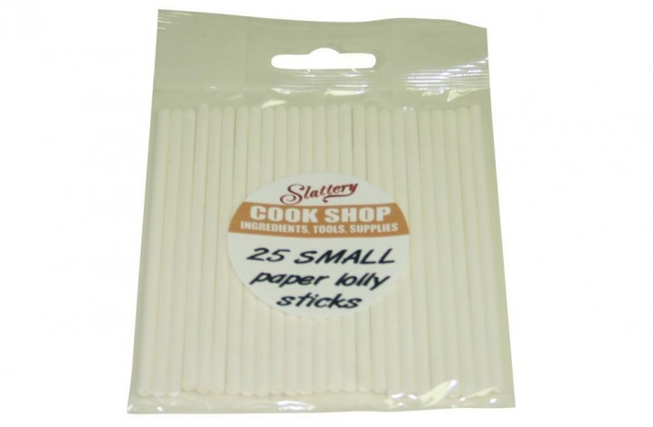 Lolly Sticks Small - pack of 25
