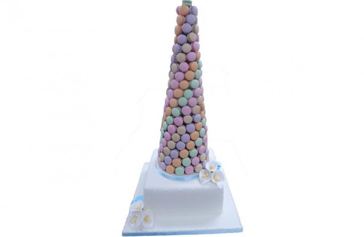 Macaron Tower and Cake