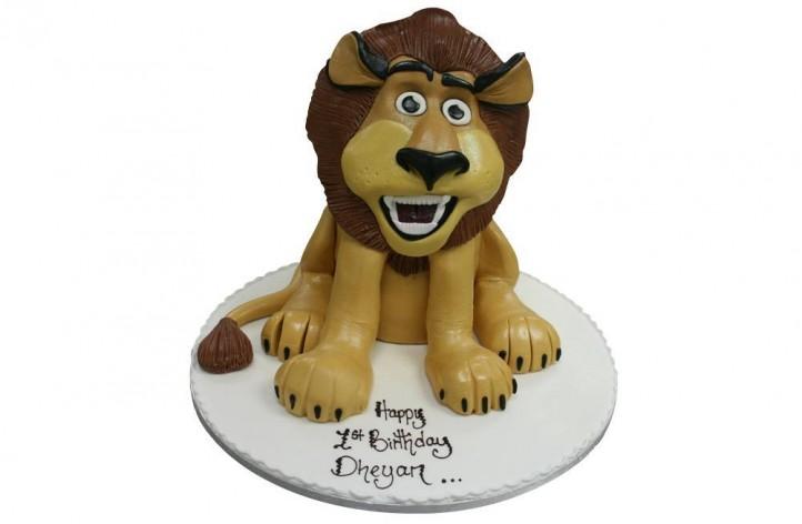 Madagascar Lion - Full Figure