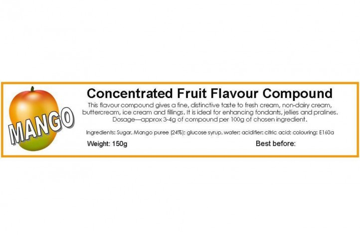 Mango Compound Flavouring 150g