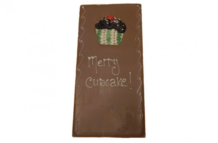 Merry Cupcake Chocolate Bar