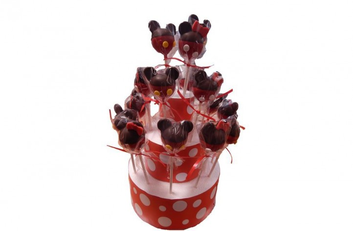 Mickey & Minnie Cake Pops