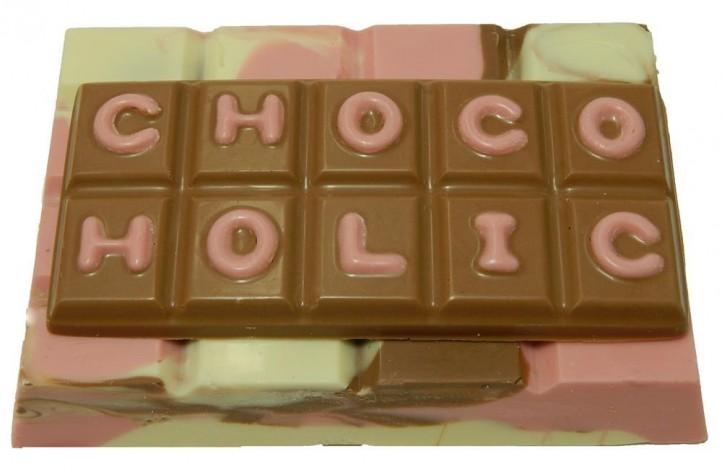 Milk, White & Strawberry Chocolate