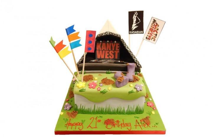 Music Festival Cake