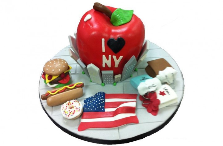 New York Apple & Extras Cake