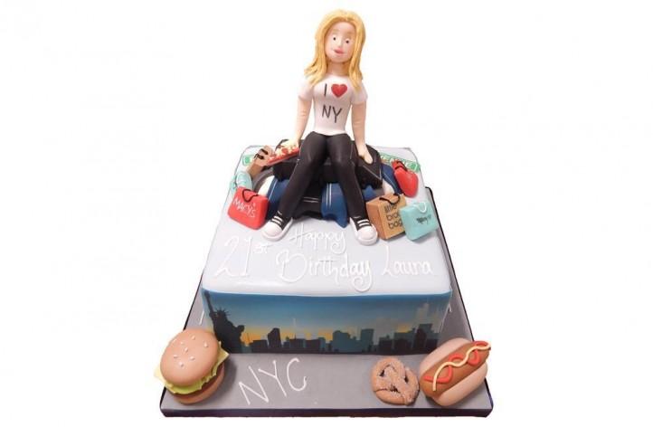 New York & Figure Cake