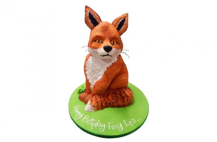 Realistic Fox Cake