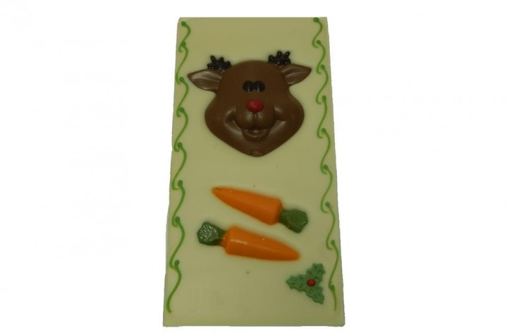 Reindeer & Carrots Chocolate Bar