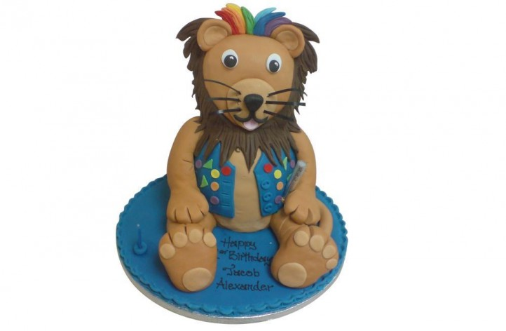 Rock & Roll Lion Full Figure