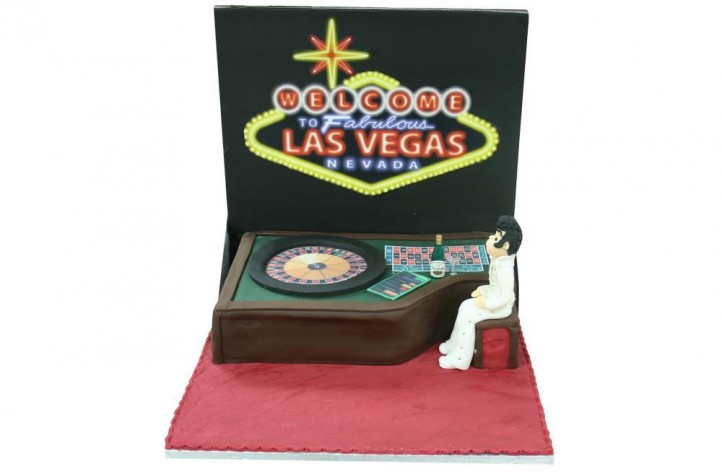 Roulette Table with Figure