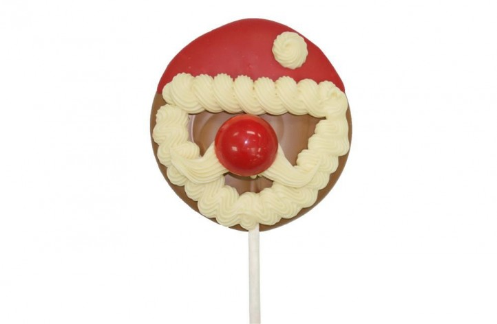 Santa Chocolate Lolly