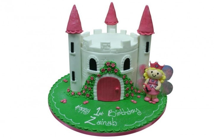 Simple Castle with Fairy