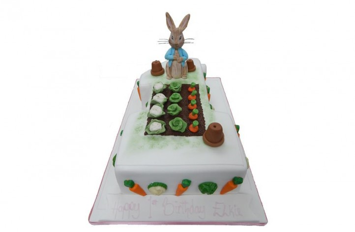 Single Figure Peter Rabbit Cake