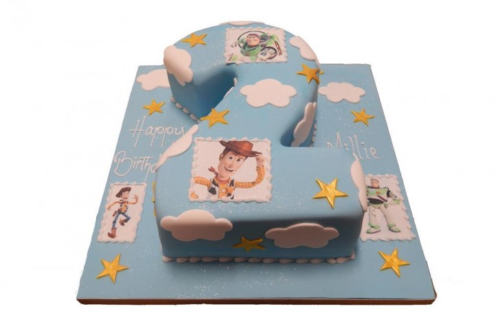 Single Figure Toy Story Cake