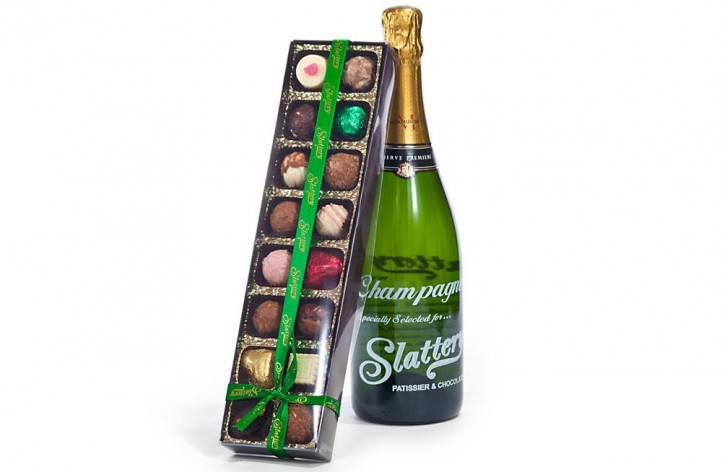 Slattery Champagne & 16 Chocolate Box