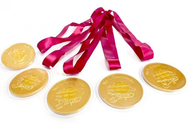 Slattery Chocolate Medals