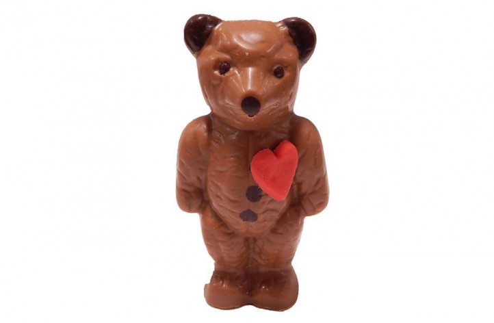 Small Bear with hearts