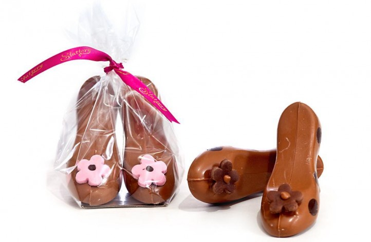 Small Chocolate Shoes