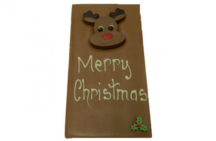 Small Reindeer Chocolate Bar