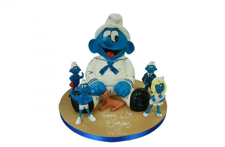 Smurf Full Figure & Small Figures