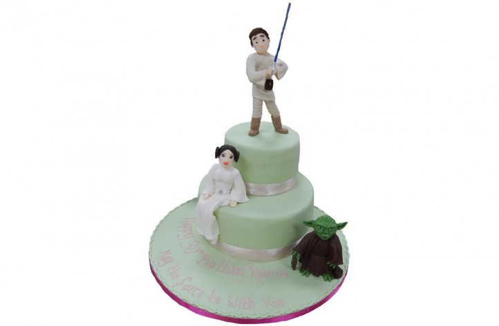 Star Wars Cake with Figures
