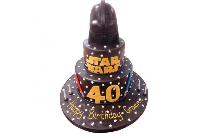 Star Wars Tiered Cake