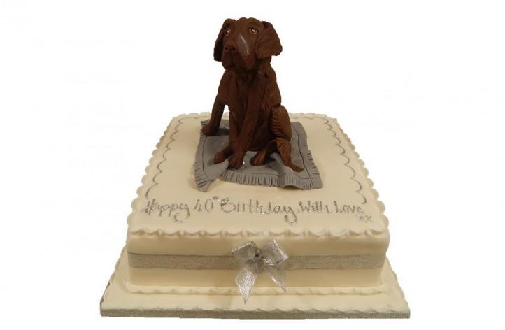 Sugar Dog Cake
