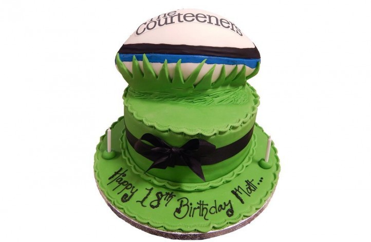 Sugar Rugby Ball Cake