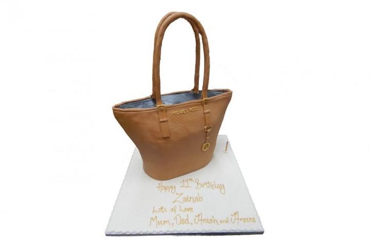 Tan MK Bag