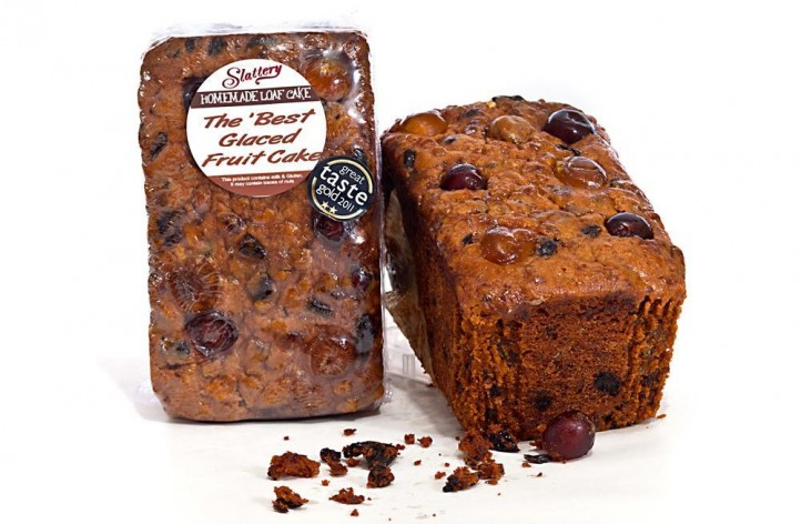 The Best Glaced Fruit Cake