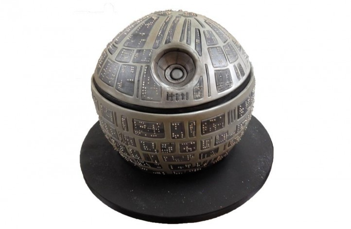 The Death Star Cake
