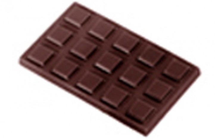 The Mini Chocolate Bar Hard Plastic Mould