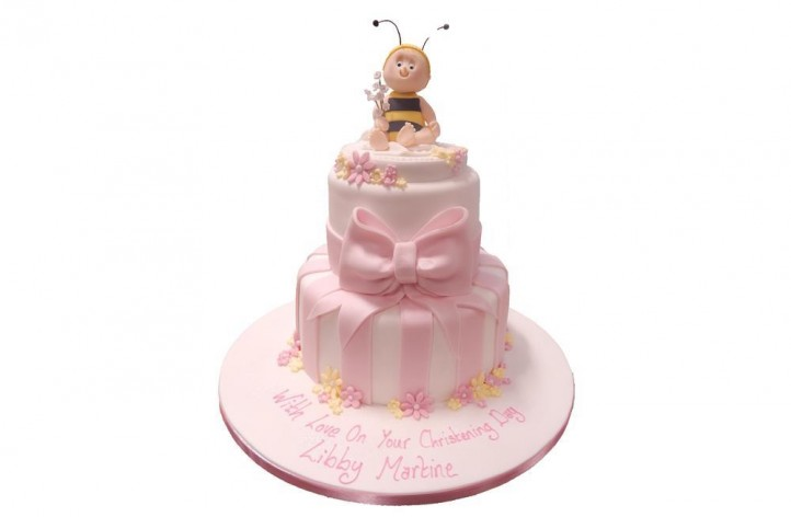 Tiered Baby Bee Cake