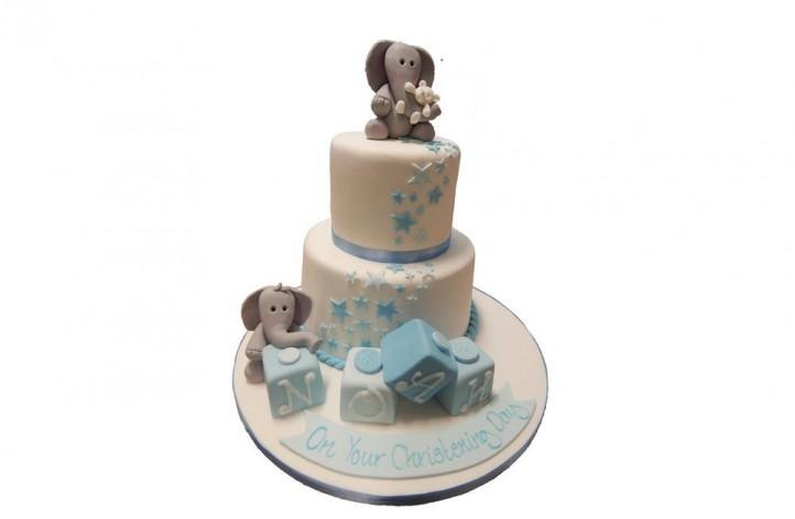Tiered Elephant Cake