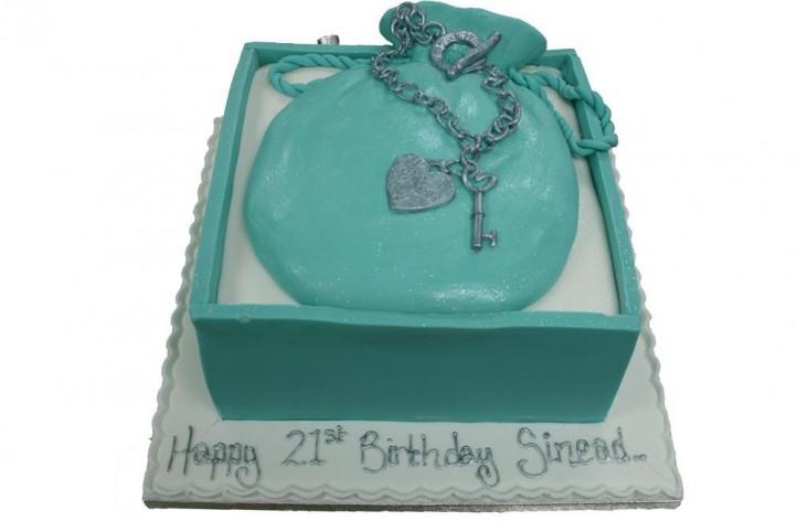 Tiffany Purse Cake