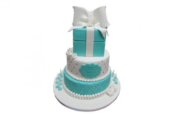 Tiffany Tiered Cake