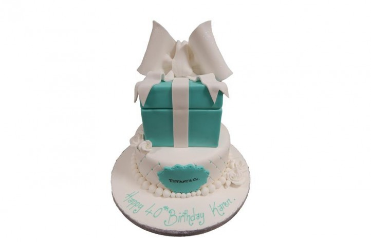 Tiffany Two Tiered Cake