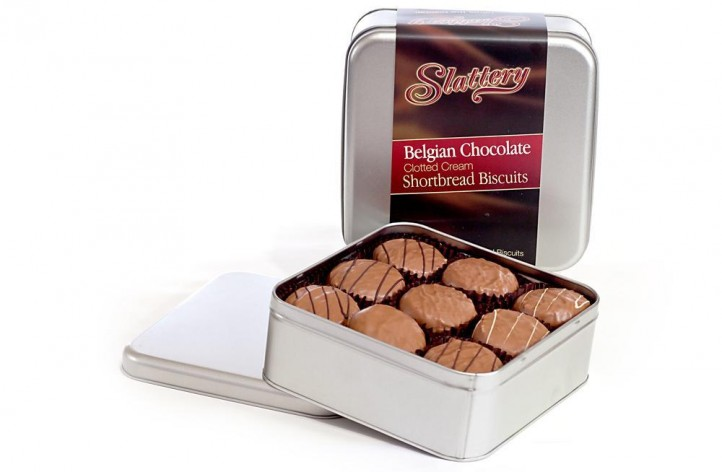 Tin of Chocolate Covered Shortbread