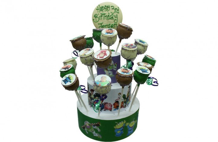 Toy Story - Cake Pop Stand